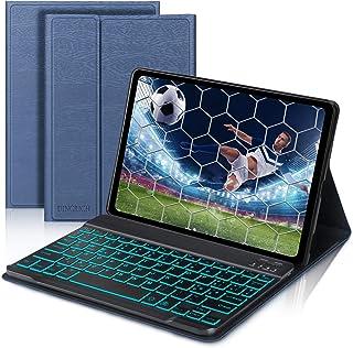 D DINGRICH Tastiera [Italiano Layout] Custodia per Samsung Galaxy Tab A 10.1 SM- T510/SM- T515, Custodia con Tastiera Retr...