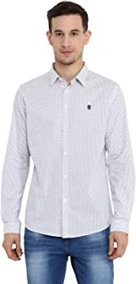 Red Tape Men's Printed Regular Fit Casual Shirt