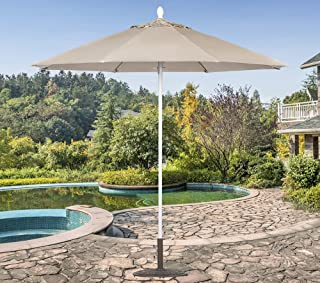 Tropishade 631W59 Commercial 9 Ft. Patio Umbrella is Perfect for Cafes Restaurants