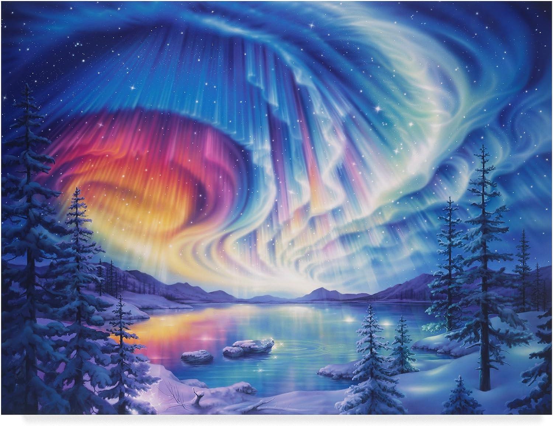 Trademark Fine Art ALI30873C1419GG Enchanted Lights by Kirk Reinert Canvas Art, Multicolor, 14x19