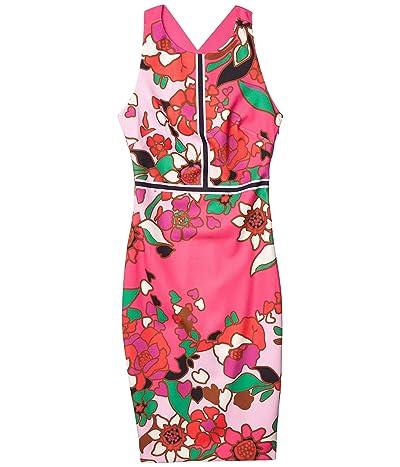 Ted Baker Marloww Pinata Buckle Detail Bodycon Dress (Pink) Women