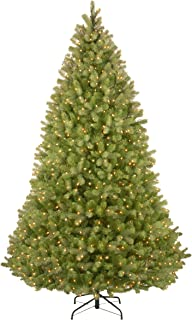 National Tree 9 Foot Bayberry Spruce Tree with 1000 Dual Color LED Lights and PowerConnect 9 Function System, Hinged (PEBY4-D51-90)