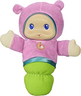 Playskool Pink Glo Worm Stuffed Lullaby Toy for Babies with Soothing Melodies (Amazon Exclusive)