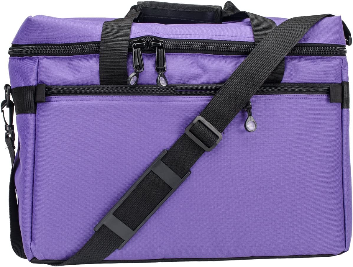 Very popular High quality new Sewing Machine Project Bag 17x13x7-Purple