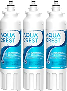 AQUACREST ADQ73613401 Refrigerator Water Filter, Replacement for LG LT800P, ADQ73613402, ADQ73613408, ADQ75795104, Kenmore 9490, 46-9490, LSXS26326S, LMXC23746S, LMXC23746D (Pack of 3)