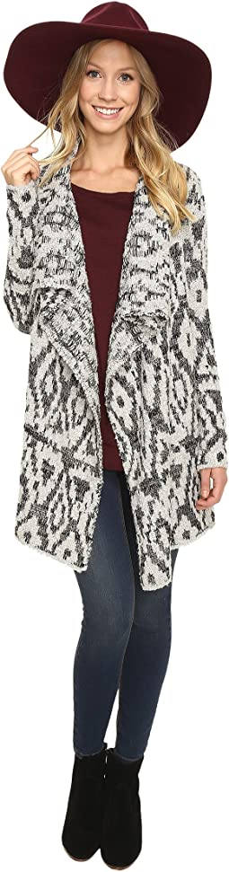 Lucky Brand - Metallic Boucle Cardigan