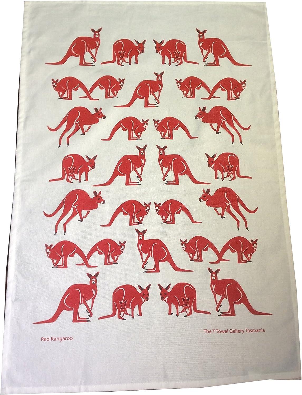 Amazon Com New Kitchen Towels Australian Animal Design Kangaroo Home Kitchen