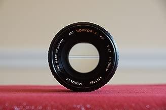 minolta 50mm f 1.7 lens