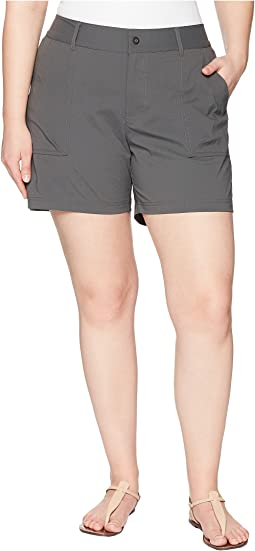 Plus Size Silver Ridge Stretch Shorts II