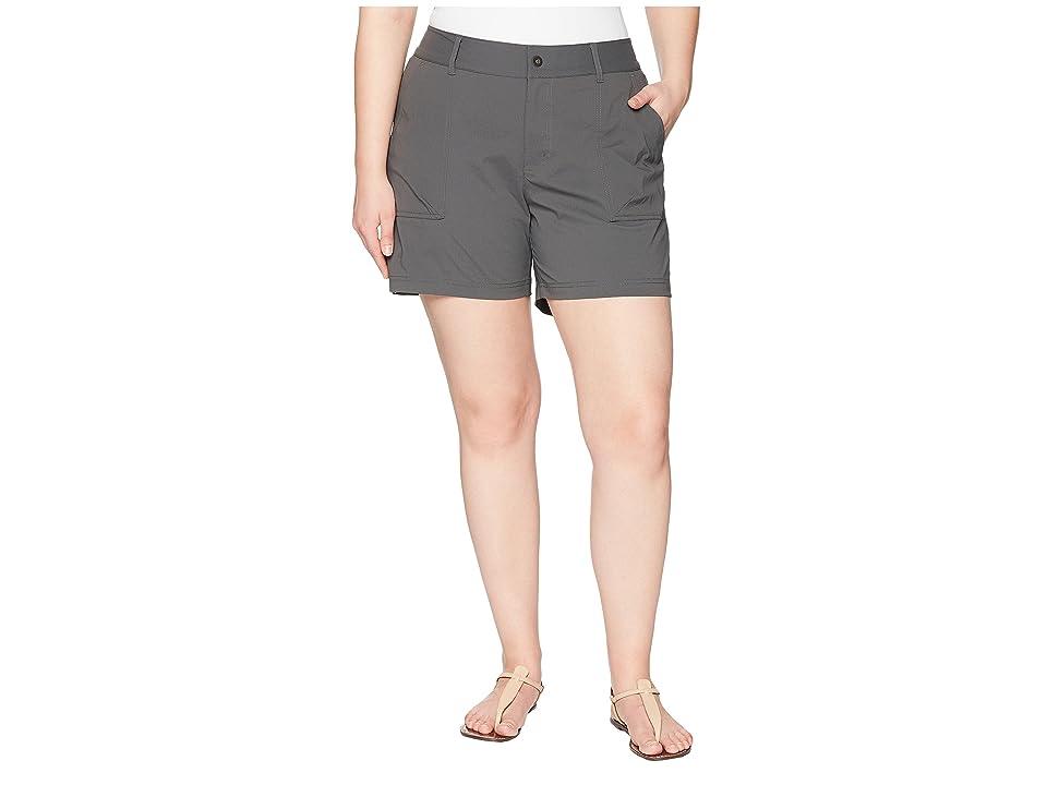 Columbia Plus Size Silver Ridge Stretch Shorts II (Grill) Women