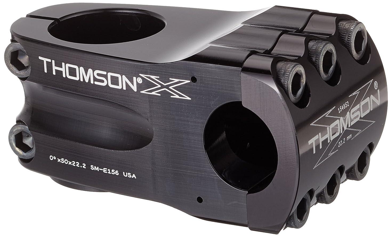 完璧ドナースタウトTHOMSON(トムソン) BMX ステム SME156BK ブラック 50mm 22.2 0°