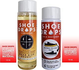 Shoe Cleaner and Sole Whitener Bundle Offer by Shoe Drops