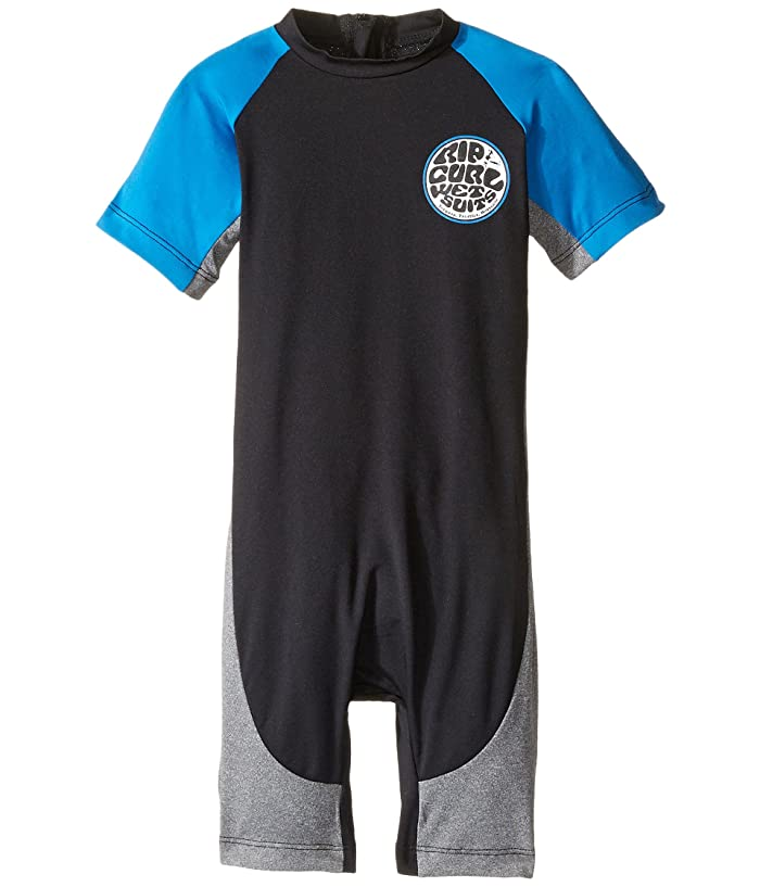 fbda7b05bc Rip Curl Kids Aggrolite Spring (Infant/Toddler/Little Kids) (Black) Boy's  Wetsuits One Piece