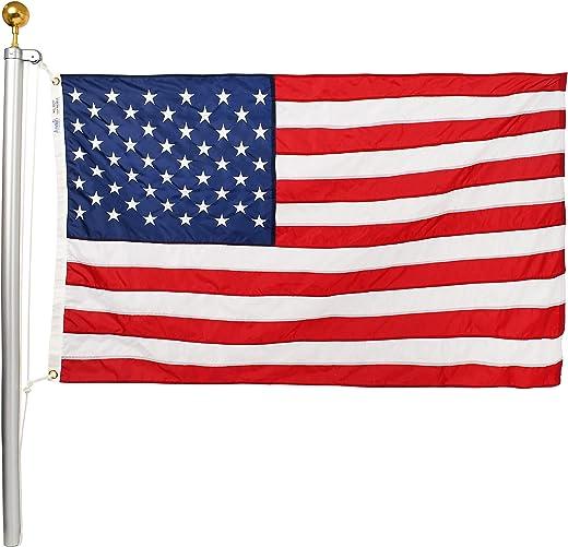 Ezpole Flagpoles Classic Flagpole Kit, 17-Feet