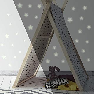 RoomMates RMK3527SCS Glow In The Dark Stars Peel And Stick Wall Decals,Multicolor