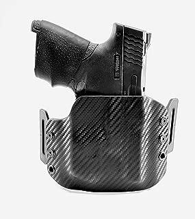 Tru-Fit Tactical OWB Kydex Gun Holster (Carbon Black) for Streamlight TLR-6