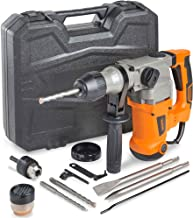 VonHaus Rotary Hammer Drill 10 Amp with Vibration Control, 3 Drill Functions and..