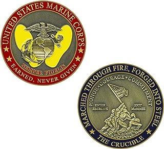 Marine Corps Crucible Challenge Coin