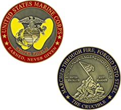 Marine Corps Crucible Challenge Coin