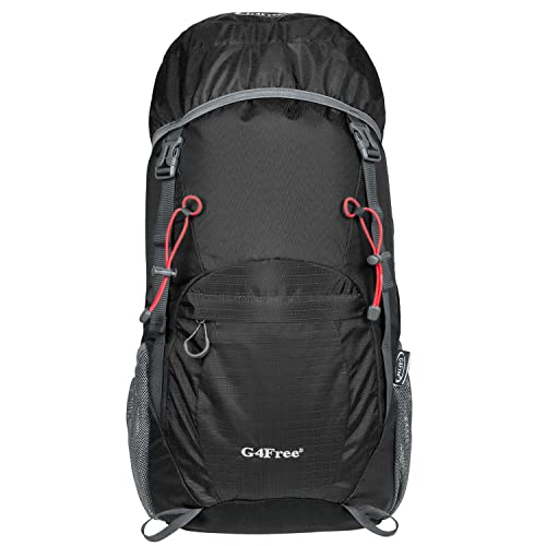 G4Free 40L Ultra Lightweight Tear   Water Resistant Foldable Travel Hiking  Backpack 9dbcedce3e888