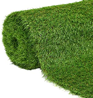 vidaXL Césped Artificial 1x5m/40mm Verde Casa Jardín Terraza Decoración Patio