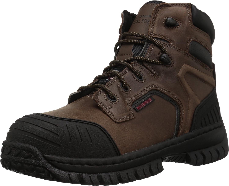 Skechers Men's Hartan Work Large special price !! Boot Onkin Recommendation