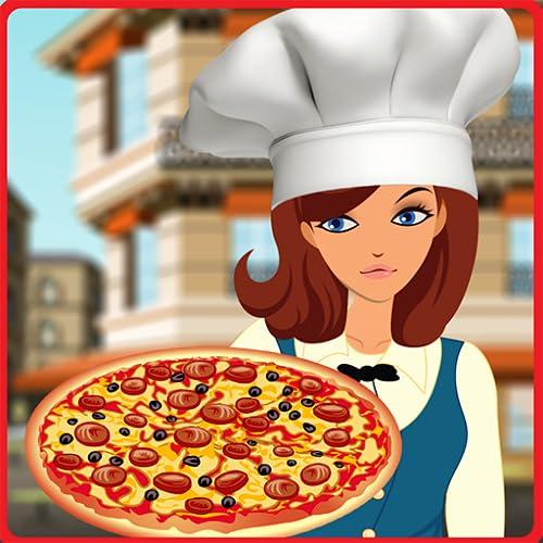 livreur de pizza ecoliere - jeu pizza chef