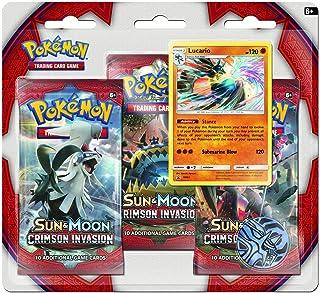 Pokemon Cards: SM4 Crimson Invasion 3PK Blister