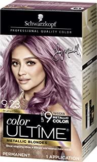 Schwarzkopf Color Ultime Metallic Permanent Hair Color Cream, 9.23 Brushed Berry (Pack of 12)