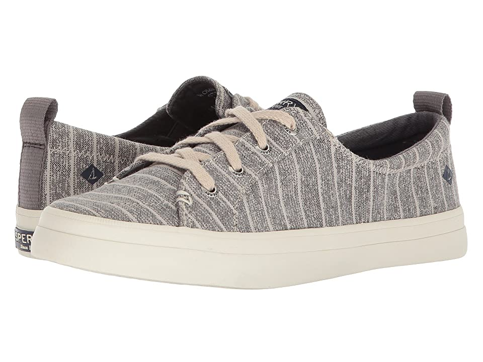 Sperry Crest Vibe Painterly Stripe (Grey) Women
