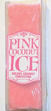Universal Studios Florida Wizarding World of Harry Potter Theme Park Exclusive From Honeydukes Emporium Pink Coconut Ice White & Pink Coconut Fudge Coconut Flakes 7.7 Oz. Candy