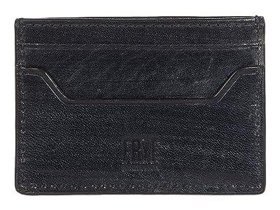Frye Austin Card Case (Navy) Handbags