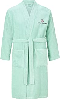Jan Vanderstorm Janning Men`s Bathrobe and Dressing Gown, Made of 100% Soft Cotton. Bathrobes Available up to 5XL. Made in...