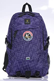National Geographic Backpack for Men Purple,N01127.04
