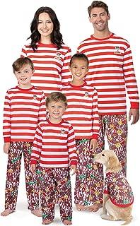 Where's Waldo Family Pajamas - Fun Pajamas for Family, Red, Kids