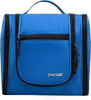Bagail Men & Women Toiletry Bag for Makeup, Cosmetic, Shaving, Travel Accessories, Personal Items -Hotel, Car, Home, Bathroom, Airplane Hanging Toiletries Kit Makeup Organizer Blue