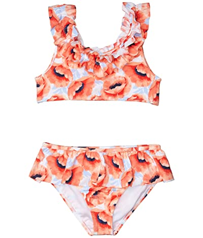 Janie and Jack Printed Two-Piece Swimsuit (Toddler/Little Kids/Big Kids) (Multi 1) Girl