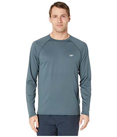 Speedo Easy Long Sleeve Swim Shirt (Granite) Men