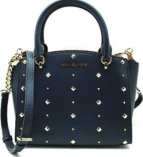 0f8b4cd64237 MICHAEL Michael Kors Women's ELLIS Small Satchel Studded Leather handbag