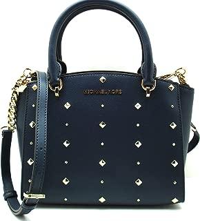 Best michael kors navy blue studded bag Reviews