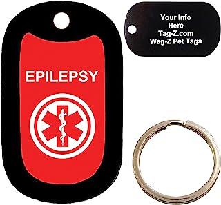 Custom Engraved Pet Tag EPILEPSY