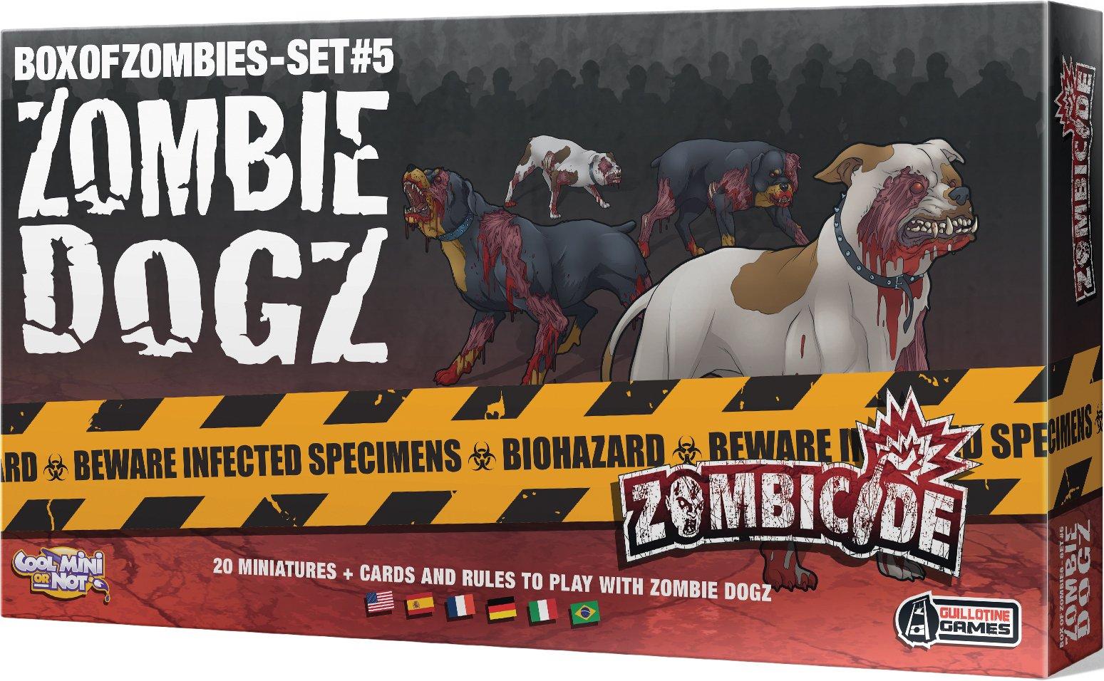 Desconocido Zombicide Box of Zombies: Zombie Dogz Set #5 - Juego de Mesa, para 6 Jugadores (CoolMiniOrNotInc. GUG0019) (Importado): Amazon.es: Juguetes y juegos