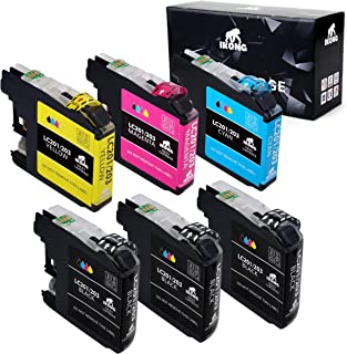 IKONG Compatible Ink Replacement for Brother LC203XL Work with Brother MFC-J480DW MFC-J885DW MFC-J485DW MFC-J880DW MFC-J680DW MFC-J4420DW MFC-J4620DW MFC-j460DW MFC-J5620DW MFC-J5720DW J5520DW