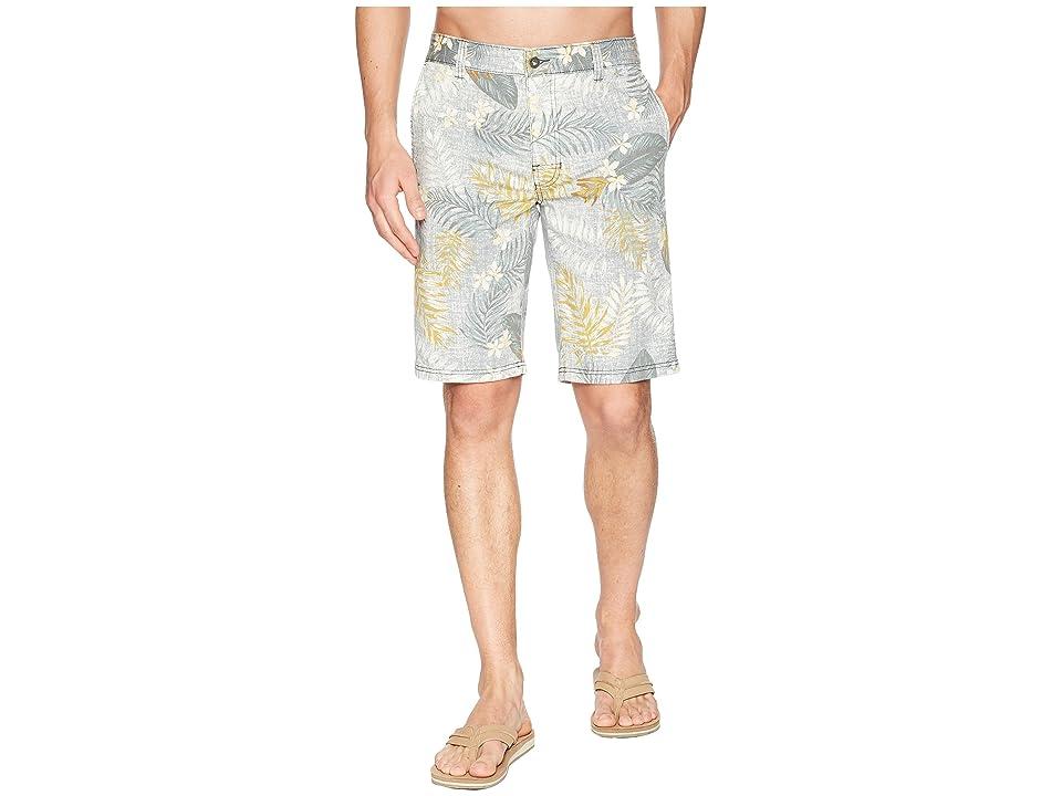 Prana Table Rock Chino Shorts (Gravel Palm) Men