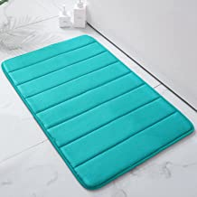 Colorxy Memory Foam Bath Mat - Soft & Absorbent Bathroom Rugs Non Slip Large Bath Rug Runner for Kitchen Bathroom Floors, ...