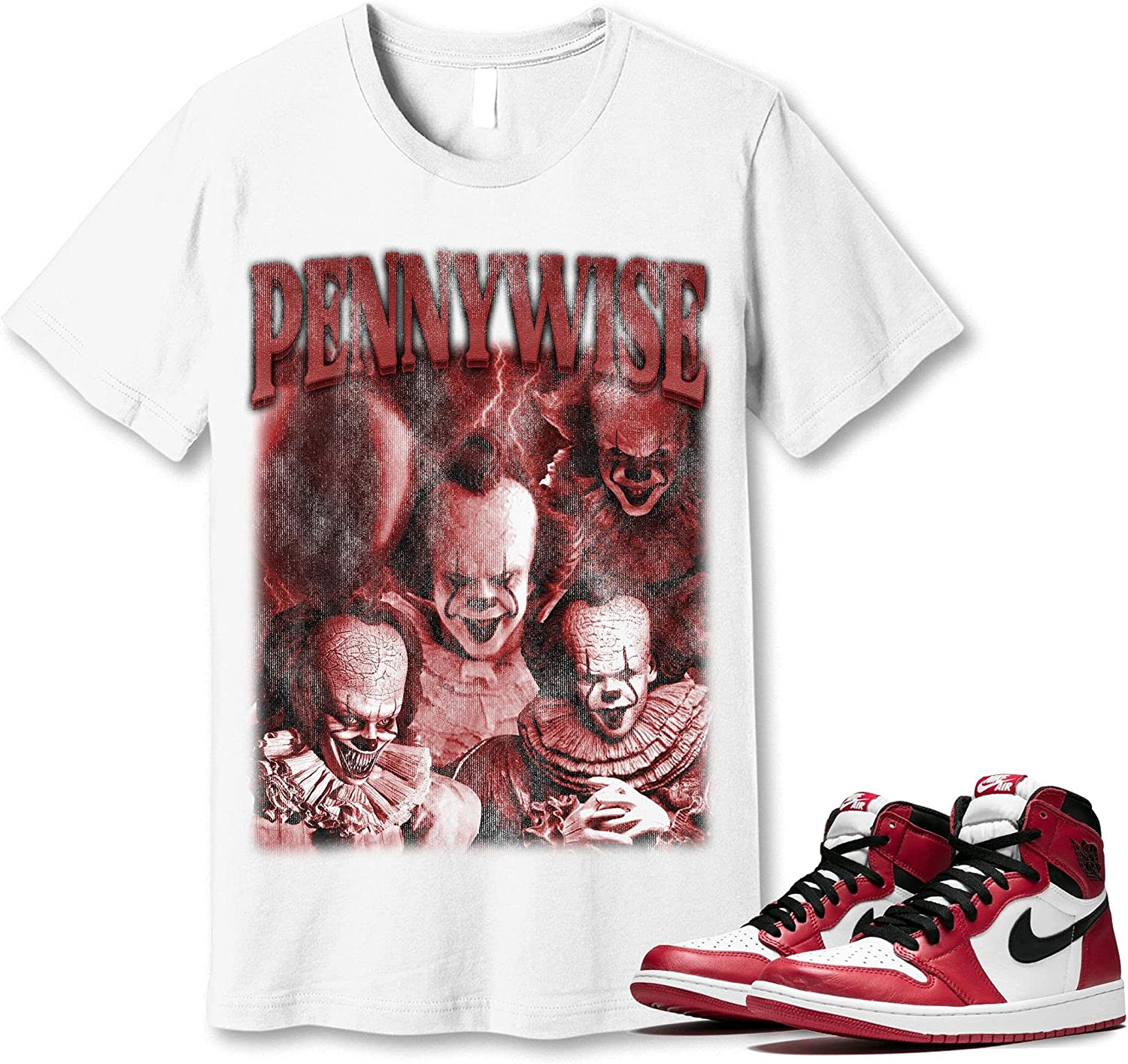 #Pennywise T-Shirt Popular products to Brand Cheap Sale Venue Match Jordan 1 Snkrs E Got Chicago Sneaker