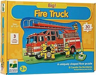 BIG FIRE TRUCK FLOOR PUZZLE