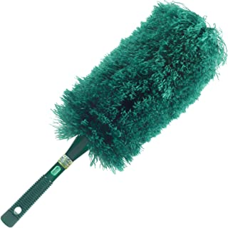 CleansGreen Fluffy Microfiber Duster | Extendable Dusters for Cleaning; Bendable Reusable Washable Screw on Your Long Handle For Tall Ceilings; EcoFriendly | Not Ostrich Feather Lambs Wool nor Swiffer