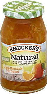 Smucker's Natural Orange Marmalade Fruit Spread, 17.25 Ounce