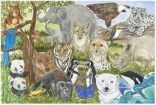 Best endangered species floor puzzle Reviews